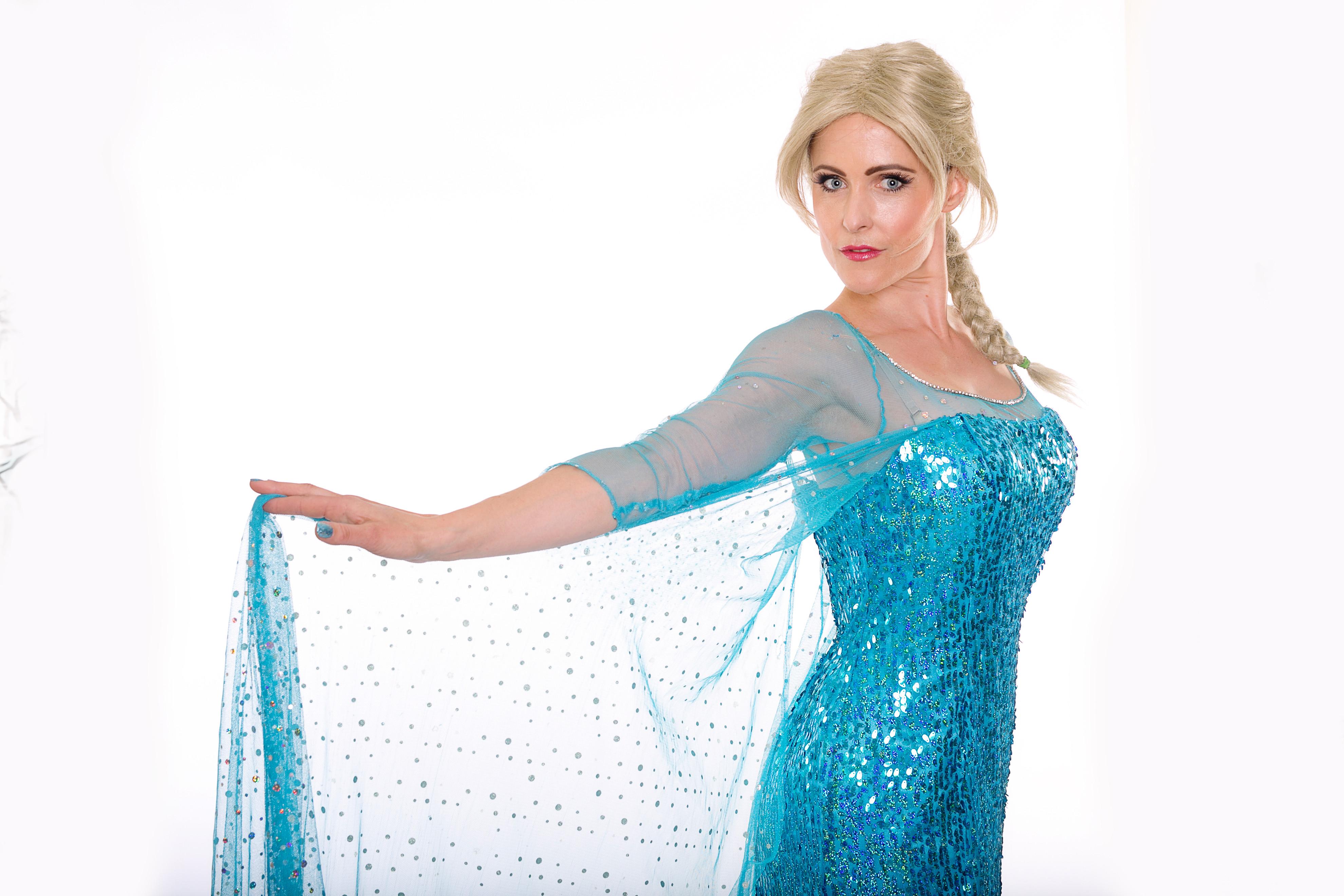 Frozen Queen Character Visit