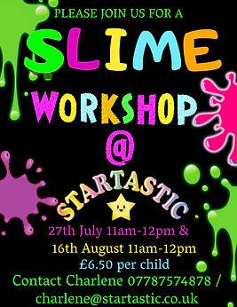 Copy of Slime Birthday Party Invitation