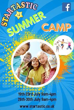 Copy of Kids Summer Camp Flyer Template.