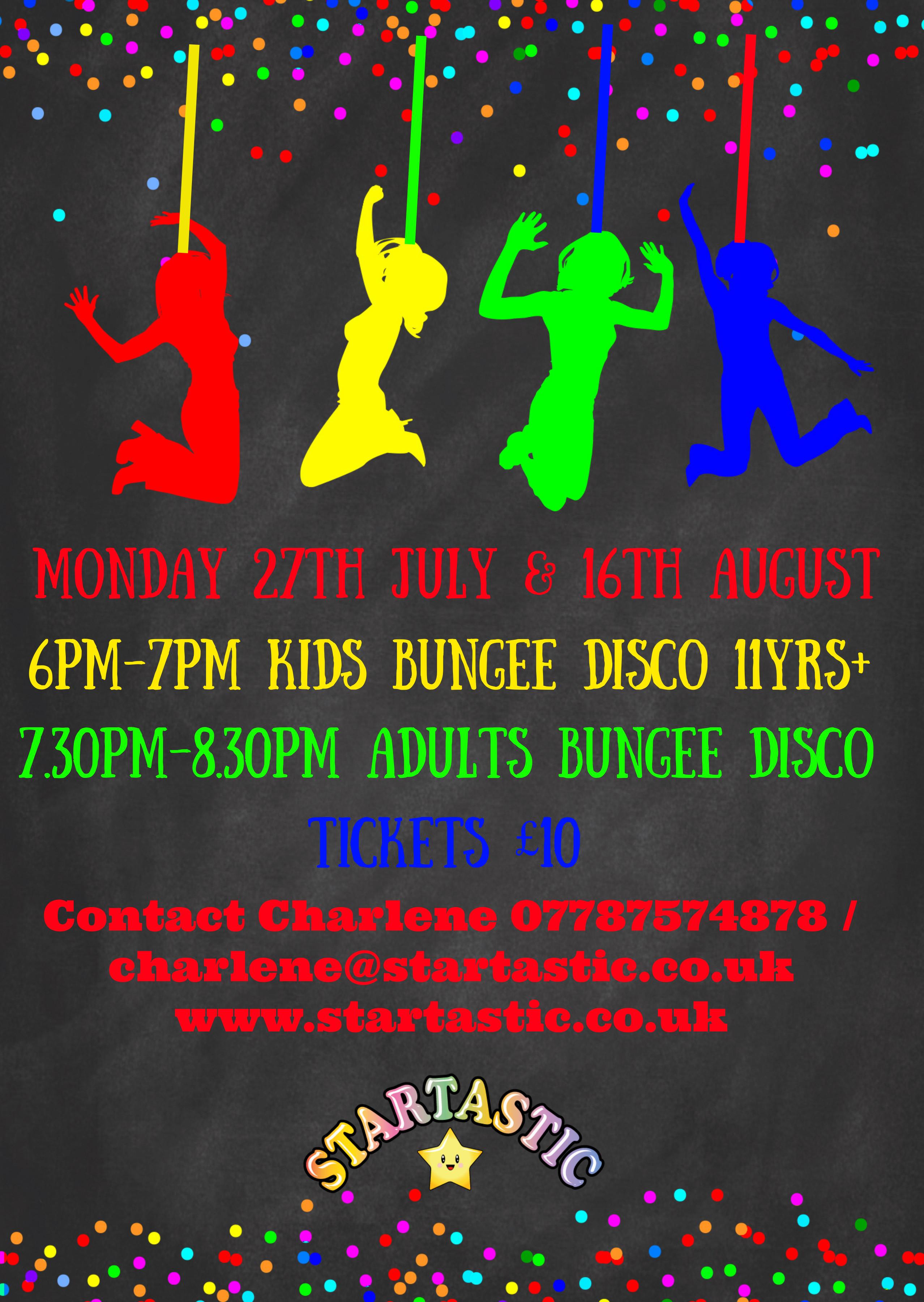 Childrens Bungee Disco