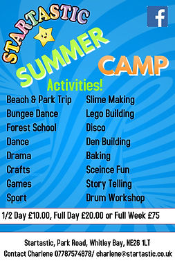 Copy of Copy of Kids Summer Camp Flyer T