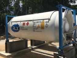 Tanque de gás especial