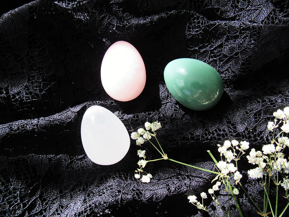 Sugar and Sage | Certified Yoni Eggs | Yoni Yoga | Red Jasper