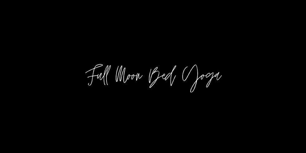 Melt | Full Moon Bed Yoga