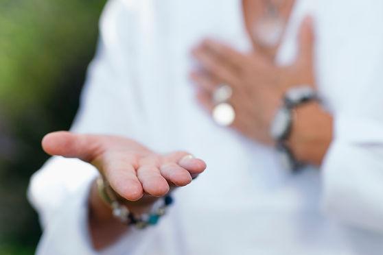 Giving Virtue Practice. Hand Gesture..jp