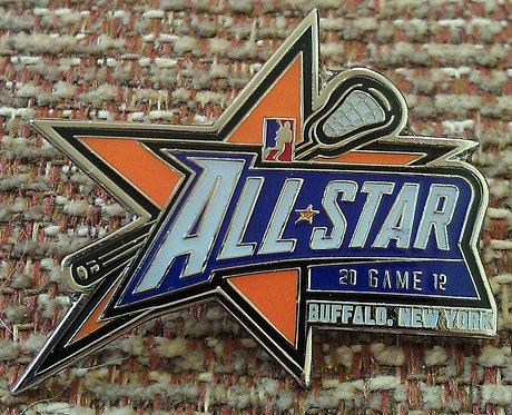 2012 ALL STAR GAME Lapel Pin / Buffalo New York