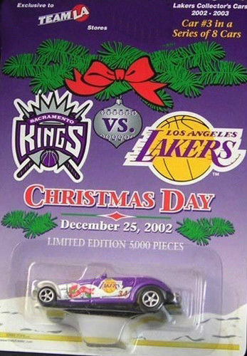 Los Angeles LAKERS #3 in a Series of 8 - 2002 Car