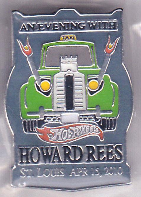 Hot Wheels 2010 Howard Rees Dinner Lapel Pin