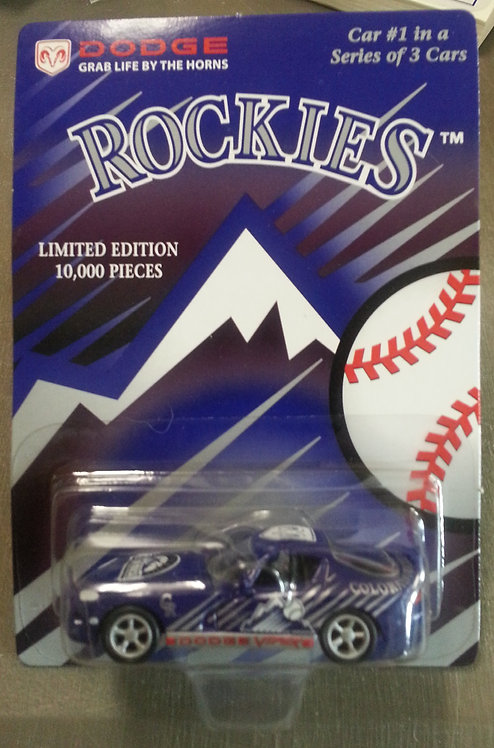Colorado Rockies #1 of 3 Dodge VIPER Die Cast Car