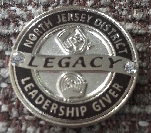 NORTH JERSEY DISTRICT Leadership Giver Silver PIN