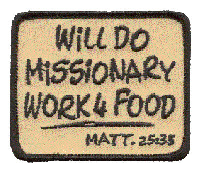 CM-4665 - Will Do Missionary Work 4 Food Patch