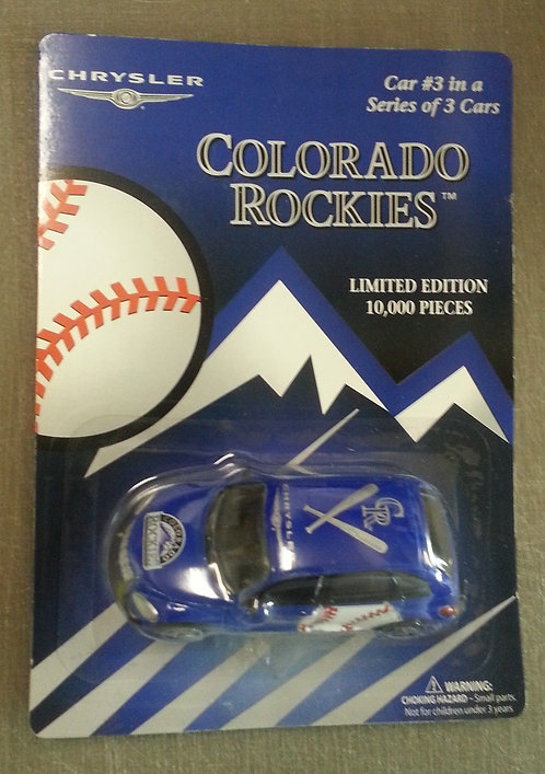 Rockies #3 of 3 Chrysler PT Cruiser Die Die Cast