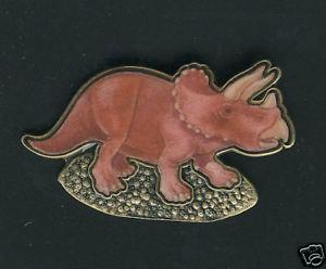 Triceratops Lapel Pin