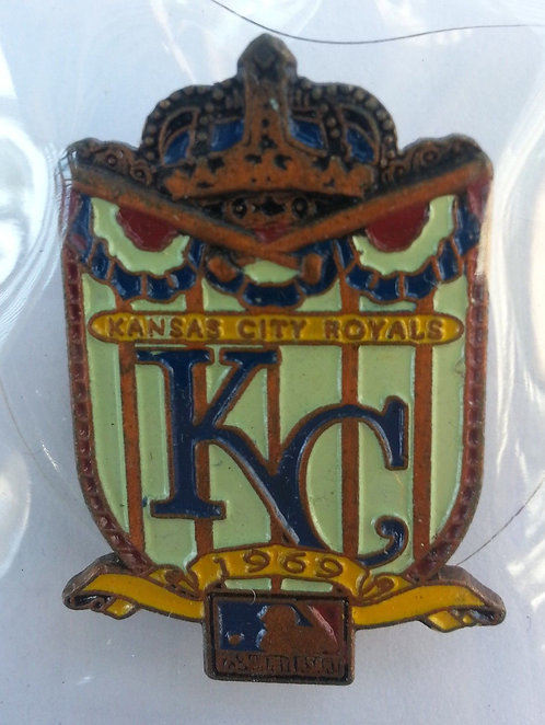 KANSAS CITY ROYALS 125th Anniversary of MLB Pin