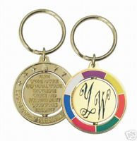 """Young Women """"VALUES"""" Spinner Key Ring"""
