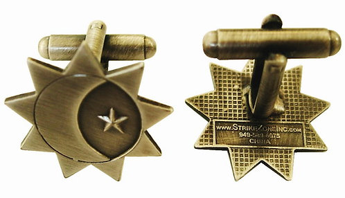 CM-3766CLS - Three Degrees of Glory Cuff Links