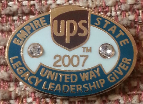 UPS 2007 Empire State United Way Leadership PIN