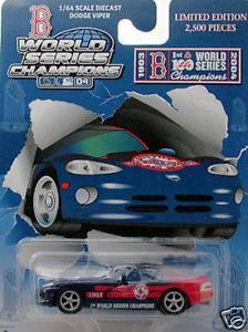 BOSTON RED SOX 2004 WORLD SERIES DIECAST CAR