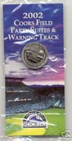 """2002 COORS FIELD """"Party Suites & Warning Track"""" Pi"""