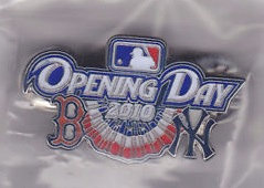 Red Sox 2010 Opening Day vs. YANKEES Lapel Pin