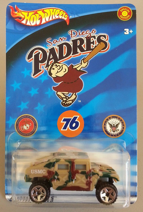 Padres 2000 Hot Wheels Hummer Promotional Die Cast