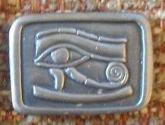 Egyptian Eye of Horus Lapel Pin
