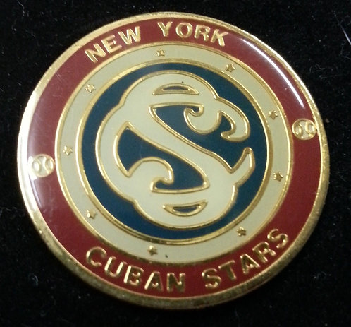 1924 New York CUBAN STARS Lapel Pin