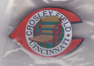 CROSLEY FIELD Stadium Seat Lapel Pin