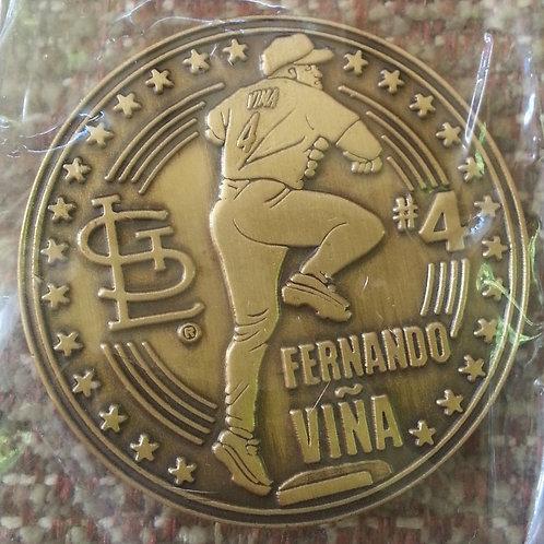ERNANDO VINA #4 - Coin 2 of 4 - June 24, 2000