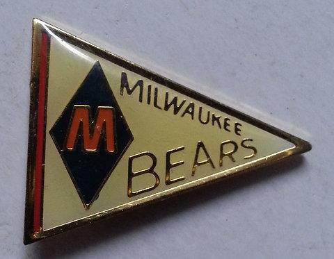 Negro League MILWAUKEE BEARS Lapel Pin