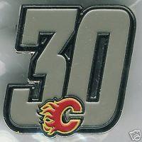 Calgary Flames #30 Retirement Lapel Pin