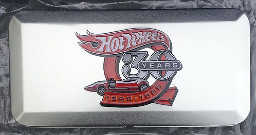 Hot Wheels 30 YEARS LIMITED EDITION COLLECTION TIN