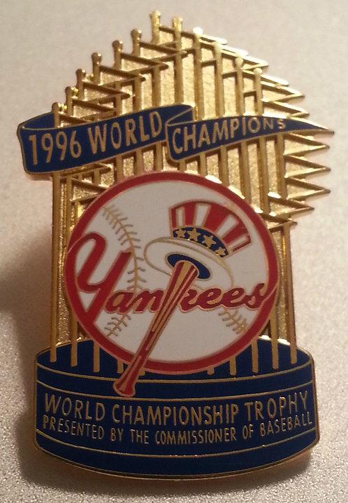 YANKEES 1996 WORLD SERIES CHAMPS Lapel Pin