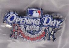 Boston Red Sox 2010 Opening Day vs. Yankees Pin