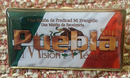 MEXICO Puebla MISSION Lapel Pin