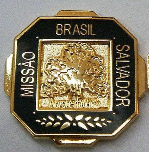 "BRAZIL SALVADOR MISSION ""Tree of Life"" Lapel Pin"