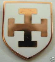 TEUTONIC Knights Order Shield Lapel Pin