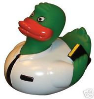 "Elder MISSIONARY ""GREENIE"" Rubber Duck"