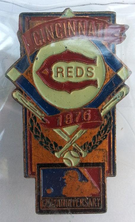 CINCINNATI REDS 125th Anniversary of MLB Pin
