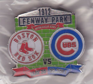 Red Sox 2011 Interleague vs. Cubs Lapel Pin