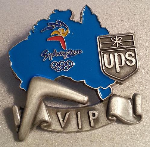 UPS Australia Sydney 2000 Olympic VIP Pin