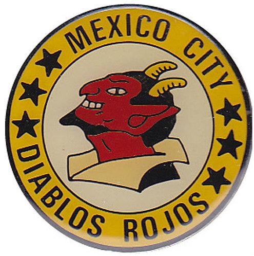 1950 MEXICO CITY DIABLOS ROJOS RED DEVILS Pin