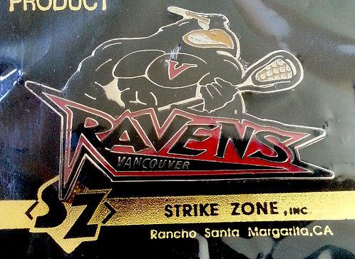 National Lacrosse League Vancouver RAVENS Pin