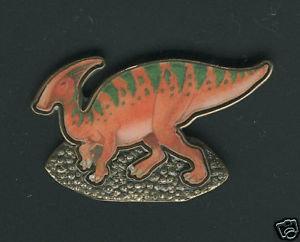 Parasaurolophus Lapel Pin