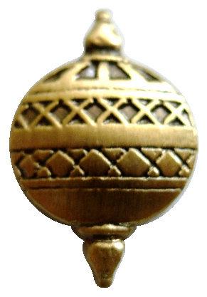 CM-4291G - Liahona Lapel Pin - Antique Gold Plate