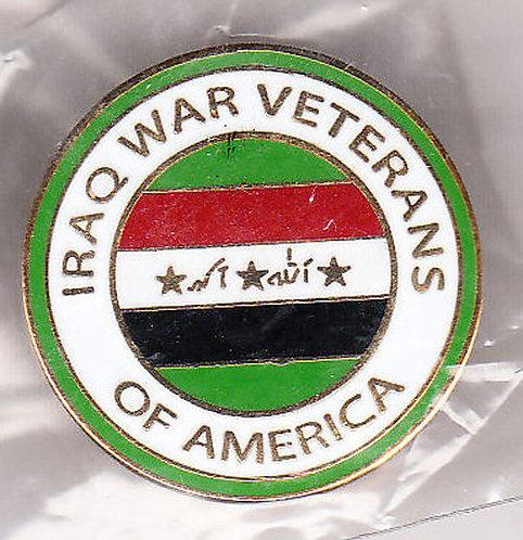 IRAQ WAR VETERANS OF AMERICA  LAPEL PIN