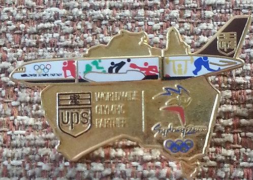 Worldwide Partner Sydney 2000 Olympic Lapel Pin