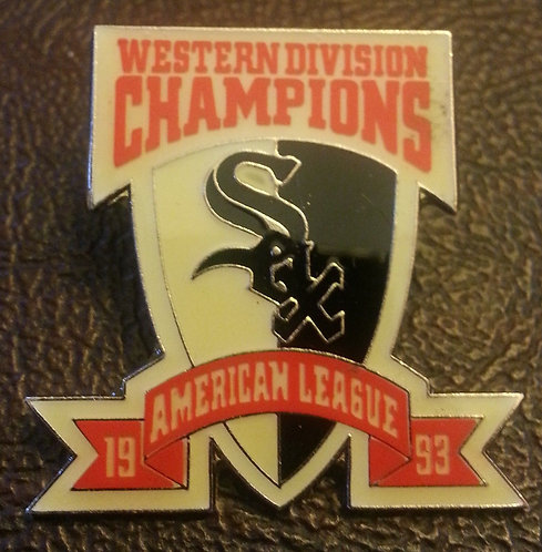 WHITE SOX 1993 AL WESTERN DIVISION CHAMPIONS PIN