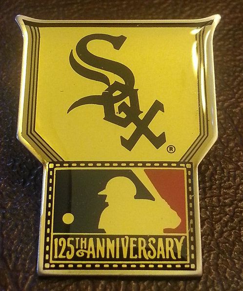 CHICAGO WHITE SOX  MLB  125th lapel Pin