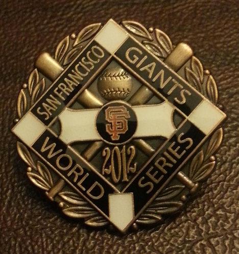 GIANTS 2012 WORLD SERIES CHAMPIONS LAPEL PIN
